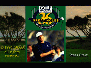 36 Great Holes Starring Fred Couples (32X)